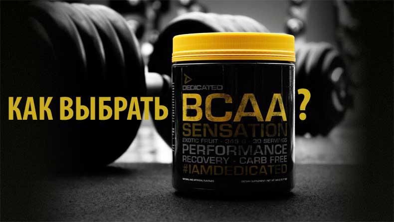 Как выбрать BCAA?