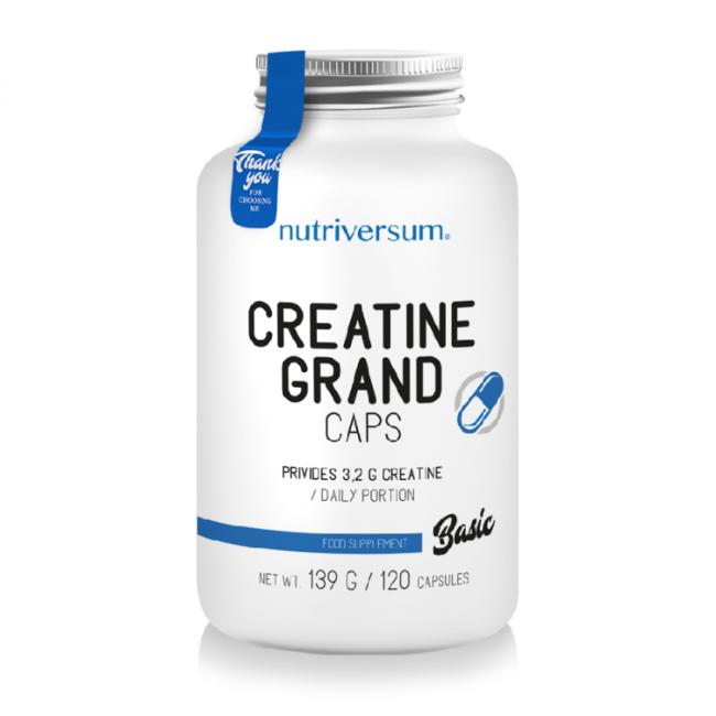 Жиросжигатель Basic Creatine Grand Caps от PurePRO (Nutriversum)